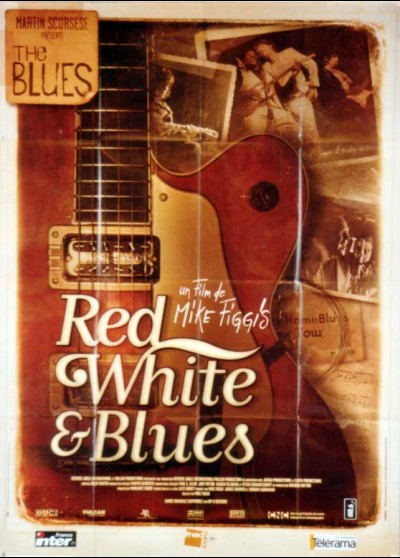 affiche du film RED WHITE AND BLUES