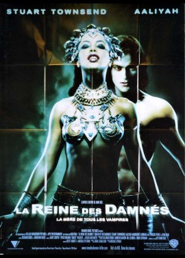 QUEEN OF THE DAMNED movie poster