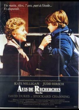 affiche du film AVIS DE RECHERCHES