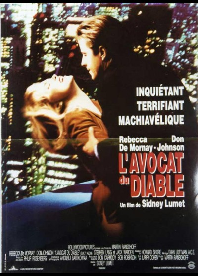 affiche du film AVOCAT DU DIABLE (L')