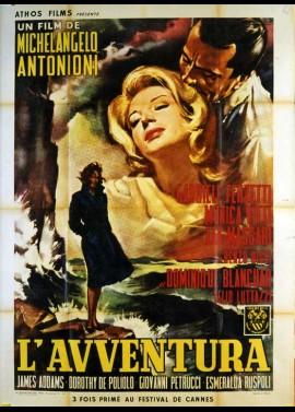 affiche du film AVVENTURA (L')