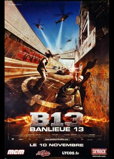 affiche du film BANLIEUE 13 / BANLIEUE TREIZE