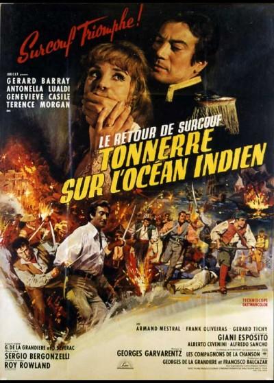 GRANDE COLPO DE SURCOUF (IL) movie poster