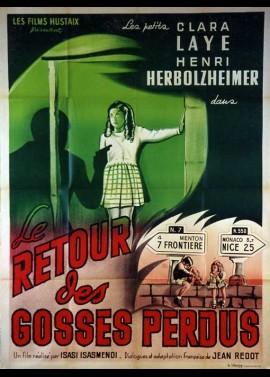 affiche du film RETOUR DES GOSSES PERDUS (LE)