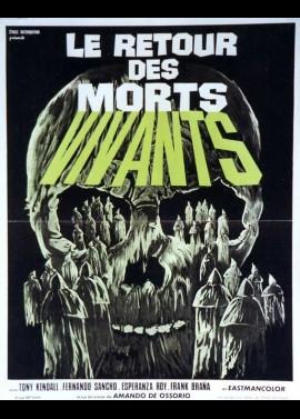 ATAQUE DE LOS MUERTOS SIN OJOS (EL) movie poster
