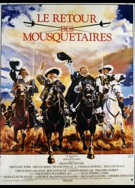 affiche du film RETOUR DES MOUSQUETAIRES (LE)