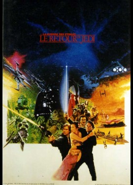 RETURN OF THE JEDI STAR WARS EPISODE 6 movie poster