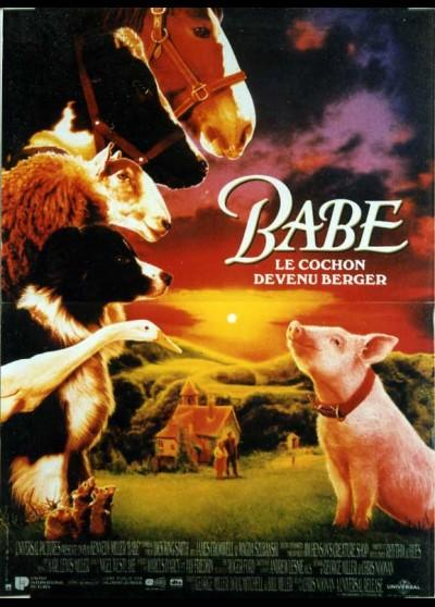 affiche du film BABE LE COCHON DEVENU BERGER