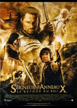 affiche du film RETOUR DU ROI (LE) LE SEIGNEUR DES ANNEAUX