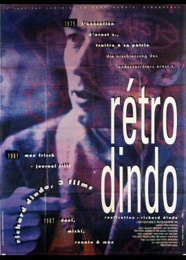 affiche du film RETRO DINDO 1975-1987