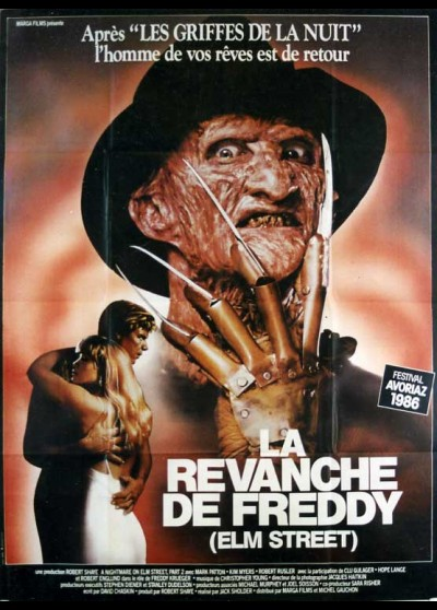 affiche du film REVANCHE DE FREDDY (LA)