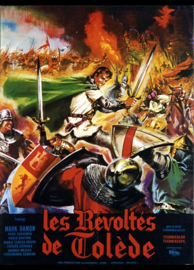 SFIDA AL RE DI CASTIGLIA movie poster
