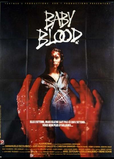 affiche du film BABY BLOOD