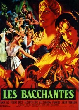 BACCANTI (LE) movie poster