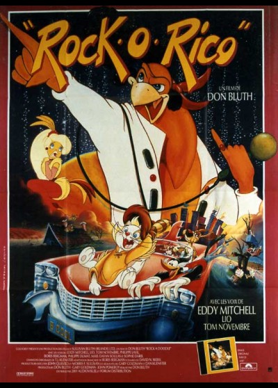 ROCK'A DOODLE movie poster