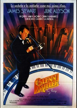 GLENN MILLER STORY (THE) movie poster