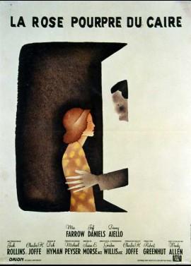 affiche du film ROSE POURPRE DU CAIRE (LA)