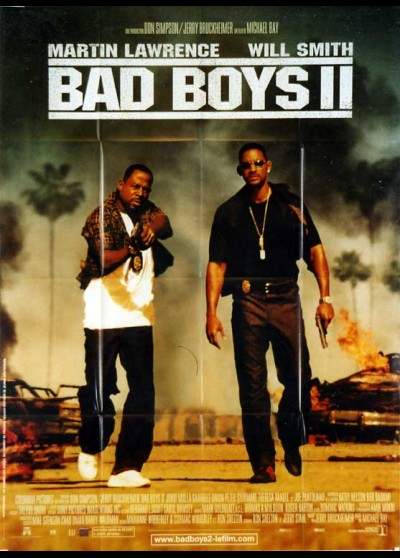 BAD BOYS 2 movie poster
