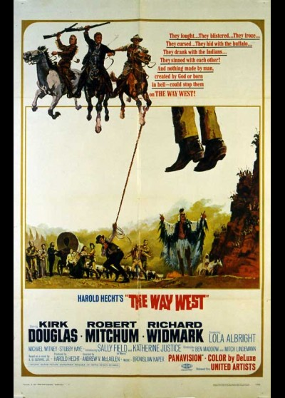 WAY WEST (THE) movie poster