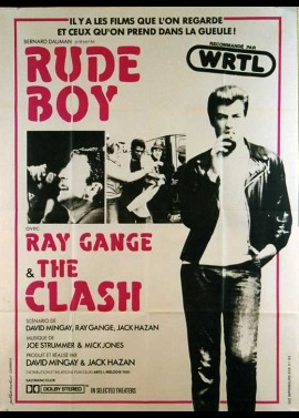 RUDE BOY movie poster