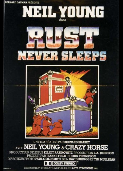 RUST NEVER SLEEPS movie poster