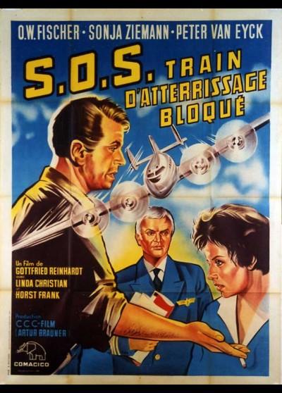 affiche du film S.O.S TRAIN D'ATERRISSAGE BLOQUE