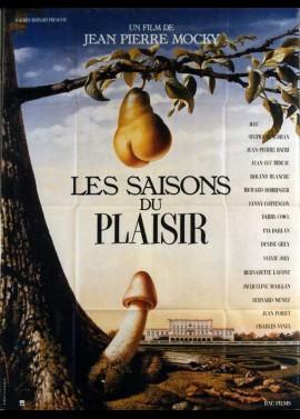 affiche du film SAISONS DU PLAISIR (LES)