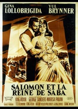 SOLOMON AND SHEBA movie poster