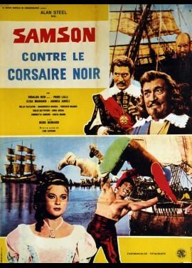 SANSONE CONTRO IL CORSARO NERO movie poster