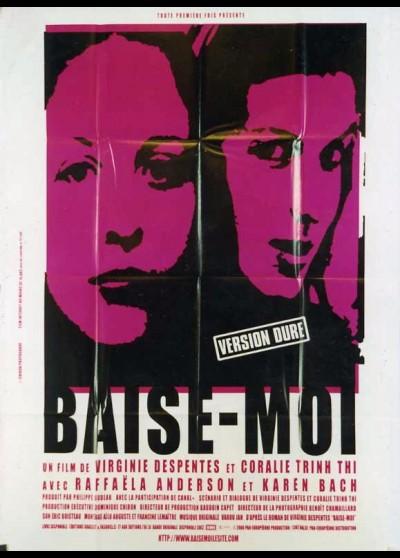 BAISE MOI movie poster