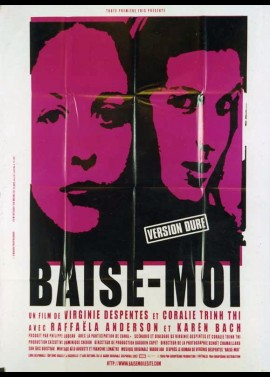 BAISE MOI movie poster