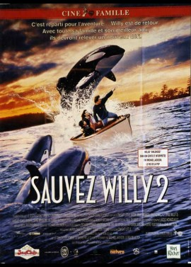 FREE WILLY 2 THE ADVENTURE HOME movie poster