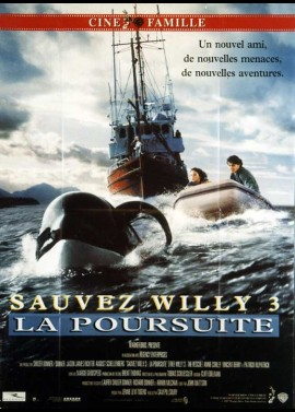 FREE WILLY 3 THE RESCUE movie poster
