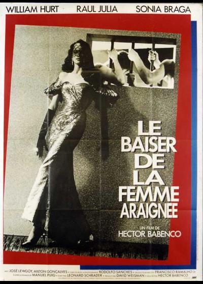 affiche du film BAISER DE LA FEMME ARAIGNEE (LE)