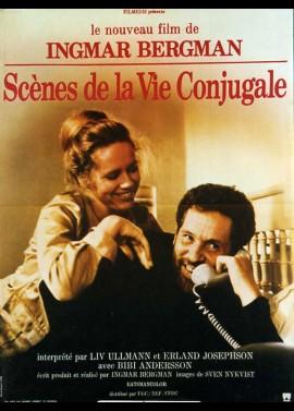 affiche du film SCENES DE LA VIE CONJUGALE