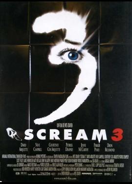 affiche du film SCREAM 3