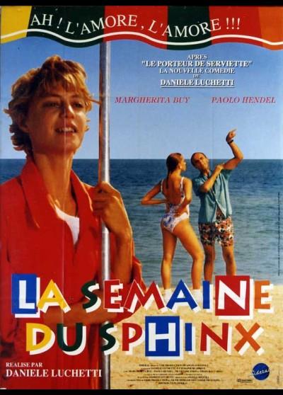 SETTIMANA DELLA SFINGE (LA) movie poster