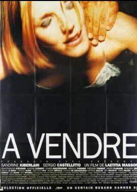 affiche du film A VENDRE