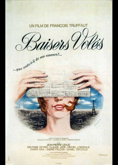 BAISERS VOLES movie poster