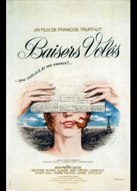BAISERS VOLES movie poster