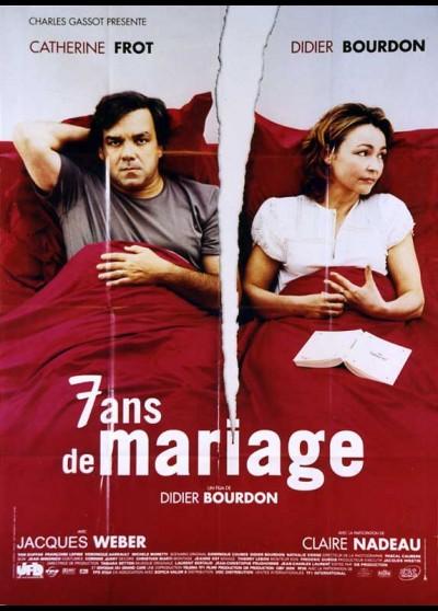 SEPT ANS DE MARIAGE movie poster