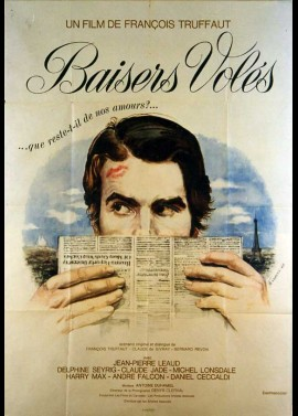 affiche du film BAISERS VOLES