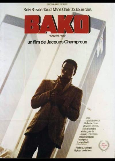 affiche du film BAKO L'AUTRE RIVE