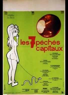 SEPT PECHES CAPITAUX (LES) movie poster