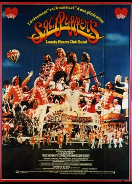SERGENT PEPPER'S LONELY HEARTS CLUB BAND movie poster
