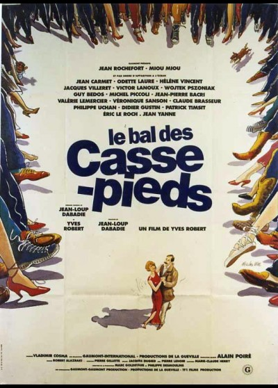 affiche du film BAL DES CASSE PIEDS (LE)