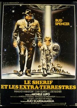 UNE SCERIFFO EXTRATERRESTRE POCO EXTRA E MOLTO TERRESTRE movie poster