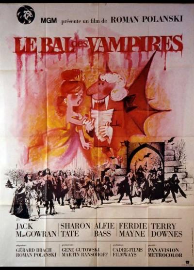 FEARLESS VAMPIRE KILEERS (THE) / DANCE OF THE VAMPIRES movie poster