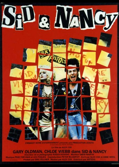SID AND NANCY movie poster