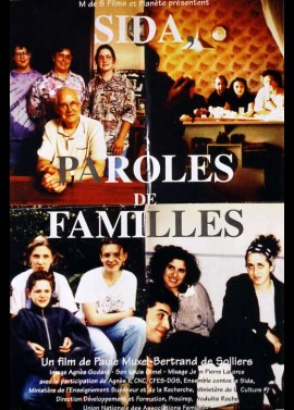 SIDA PAROLES DE FAMILLES movie poster